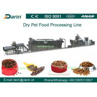 Buy cheap Twin - screw Pet Food Extruder machine / food extrusion equipment from wholesalers