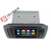 Buy cheap Classic Sepecial Frame 6.2 Inch Seat Ibiza Dvd Player , Car Dvd Multimedia Player 3G product