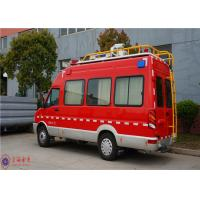 Buy cheap IVECO Chassis Command Fire Trucks Gross Weight 4000kg For Buliding Fire Fighting from wholesalers