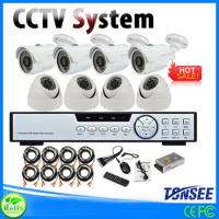 Buy cheap 2013 New CCTV H.264 4CH Wireless Security Camera Systems Kit With Remote View/Memory Storage from wholesalers
