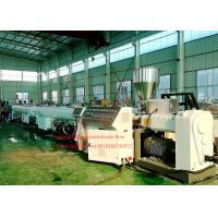 Buy cheap SJSZ-65/132 PVC pipe extrusion machine/ plastic pipe extruder machine from wholesalers