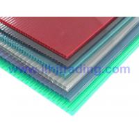 Buy cheap Anti-drip Twin Wall Hollow Polycarbonate Sheet from wholesalers