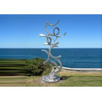 Buy cheap Contemporary Art Stainless Steel Sculpture For Outdoor Decoration Anti Corrosion  product