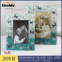 Buy cheap Customized Design Glass Wedding Photo Frames For Office / Home Ornament from wholesalers
