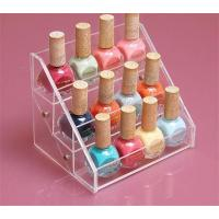 Buy cheap Popular new makeup rack/acrylic nail polish stand holder cosmetic display from wholesalers