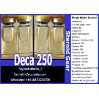 Buy cheap Yellow Liquid Injectable Anabolic Steroids Nandrolone Decanoate 250 / Deca 250 from wholesalers