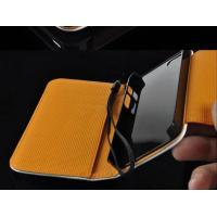 Buy cheap PU Leather Cellphone Case Flip For Ipad Samsung Galaxy S4 , Wallet Style from wholesalers