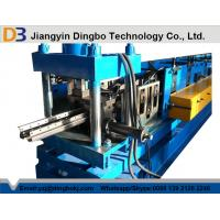 Buy cheap Industrial Warehouse Storage Rack Roll Forming Machine for Steel , Q235B Standard from wholesalers