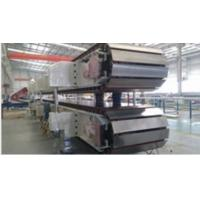 Buy cheap 10 ~ 12sets Roll Stands PU Sandwich Panel Machine Mineral Wool Sandwich Panel Line from wholesalers