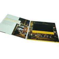 Buy cheap VIF Customized 7 Inch Lcd Video Card Business Booklet Video Brochure With Built In Memory 4GB For Marketing product