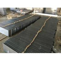 Buy cheap Professional Granite Step Treads Dark Grey Color 175MPA Compressive Strength from wholesalers