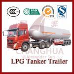 Buy cheap 40.5cbm lpg tanker,lpg road tanker,LPG trailer from wholesalers