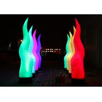 Buy cheap Color Changing Inflatable Lighting Decoration Oxford Cloth Inflatable Pillar from wholesalers