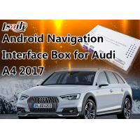 Buy cheap 7 Inch Audi Multimedia Interface for 2017 A4 4G MMI with GPS 16GB Flash MirrorLink from wholesalers