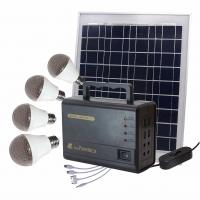 Buy cheap Outdoor Camping Solar Panel Light Bulb Kit  325×225×18 Mm 3KG Weight from wholesalers