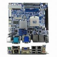 China Industrial Motherboard in Mini-ITX Form Factor with Intel Core i7, i5, i3, Celeron Processor and HM5 on sale