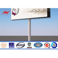 Buy cheap Waterproof Outdoor Billboard Advertising , Road LED Screen Billboard  DIP 346 from wholesalers