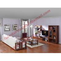 Buy cheap Solid Wooden Frame with Fabric Sectional Sofa in Home Furniture Set from wholesalers