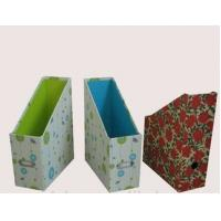 Buy cheap lovely cardboard magazine file size 11*22*31cm, accept customized boxes from wholesalers