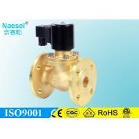 Buy cheap 1.5 Inch Flange Type Oil Pressure Control Solenoid Valve , Brass Body Steam Solenoid Valve from wholesalers