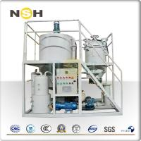 Buy cheap Low Noise Waste Engine Oil Recycling Machine , DN 42 Oil Regeneration Equipment from wholesalers