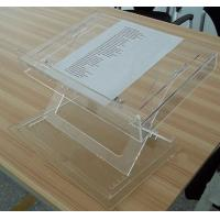 Buy cheap Modern Acrylic Furniture Adjustable Table Top , Clear Acrylic Lectern product