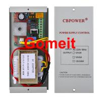Electromagnetic Lock Power Supply , 12 Volt 5 Amp Door Access Power Supply 50Hz