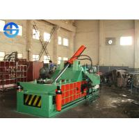 Buy cheap PLC Scrap Metal Baler Aluminium Scrap Baling Press Machine 18.5 Kw Bale Size 300×300 Mm from wholesalers