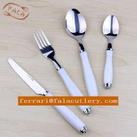 Buy cheap China Factory Wholesale Plastic Handle Cutlery Set from wholesalers