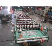 Buy cheap Industrial Cold Roll Forming Machine For Roof Panel Thickness 0.4 - 0.8mm from wholesalers
