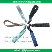 Buy cheap Fold Over Polyester Customized Elastic Knotted Fabric Hair Tie For Girl from wholesalers