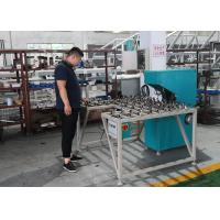 Buy cheap Low Noise Glass Double Edging Machine , Variable Miter Small Glass Grinder from wholesalers