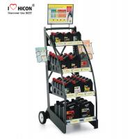 Buy cheap Custom Brand Retail Store Fixtures Oil Rack Lubricant Display Motor Oil Display Stand from wholesalers