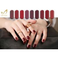 Buy cheap 15ML Glossy Free Samples Color UV LED Gel Nail Polish , Led Light Nail Polish from wholesalers