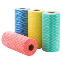 Buy cheap 100% Organic Cotton Absorbent Disposable Kitchen Towels 625mm x 305mm from wholesalers