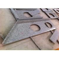 "Middle Grey Granite Vanity Tops 26'' X 25"" Irregular Customized Color"