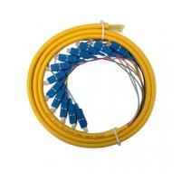 Buy cheap Bundle Fiber Optic Pigtails with FC/SC/LC connector,length is customized from wholesalers