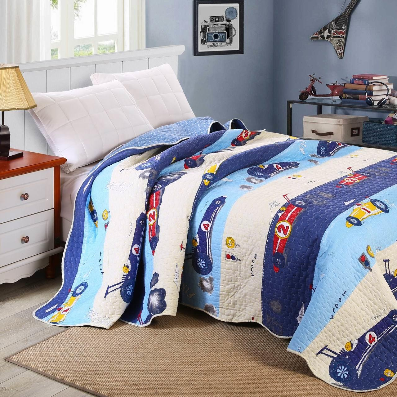 Buy cheap 100% Polyester Printed Microfiber Twin Size 160cm*240cm Children Quilt from wholesalers