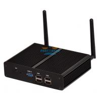 Buy cheap Smallest Barebone Mini PC Quad Core Gigabit Lan 2.41GHz Dual HD Industrial Computer from wholesalers
