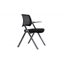 Buy cheap Mesh Back Ergonomic Folding Office Chair With Sponge Cushion from wholesalers