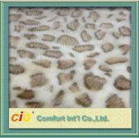 Buy cheap 100% Polyester Soft Lamb Wool Fake Fur / Faux Fur Fabric For Auto Interior Upholstery product
