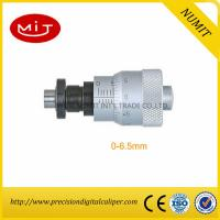 Buy cheap 0-6.5mm Clamp Nut Electronic Outside Micrometer Head With Spindle Lock Spherical Spindle Face from wholesalers