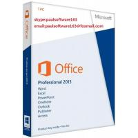 Buy cheap Microsoft Office 2013 Professional PRO Product Key Code from wholesalers