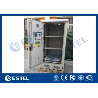 Buy cheap Weatherproof Battery Outdoor Electronics Cabinet Anti Corrosion Coating from wholesalers