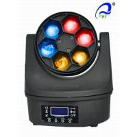 Buy cheap Dj Stage 6 Pcs 12W Bee Eye LED Wash Moving Head RGBW 4in1 50000 Hours Life Span from wholesalers