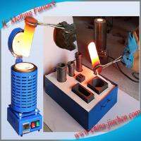Buy cheap Industrial Electric Induction Furnace Price ,Iron, Steel Scraps, Aluminum Melting Furnace from wholesalers