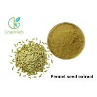 Buy cheap High Pure Natural Plant Extract Powder Fennel Seed Extract Powder from wholesalers