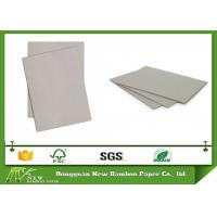 Buy cheap Uncoated Laminated Grey Chipboard For Jewelry Box / Gift Box Packaging Paper from wholesalers