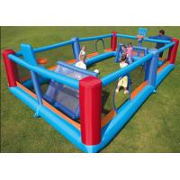 Buy cheap The 18oz PVC Inflatable Sports Games Football Beach Volleyball Field With Kids from wholesalers