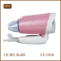 Buy cheap Electric Handle 800-1000W Hair Dryer Styling Tools Low Noise Mini Foldable Hair Dryer with green and pink from wholesalers